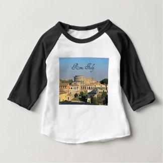 Camiseta Para Bebê Roma, Italia - Colosseum