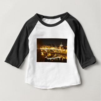 Camiseta Para Bebê Roma, Italia na noite