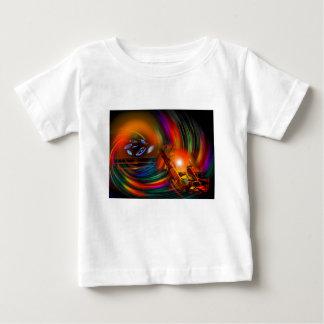 Camiseta Para Bebê Romance of sailing - Calcular o tempo túneis