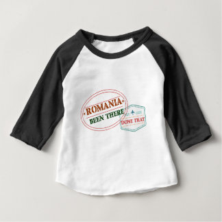 Camiseta Para Bebê Romania feito lá isso