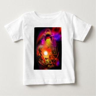 Camiseta Para Bebê Romantismo de vela - Calcular o tempo túneis
