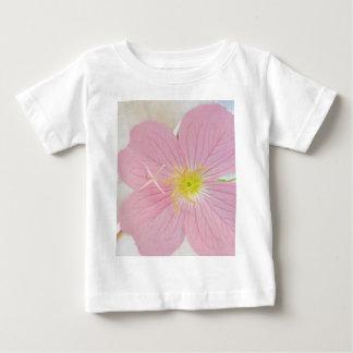 Camiseta Para Bebê rosa da prímula