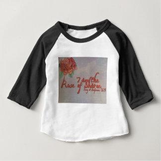 Camiseta Para Bebê rosa de sharon