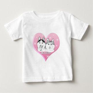 Camiseta Para Bebê Rosa dos roucos
