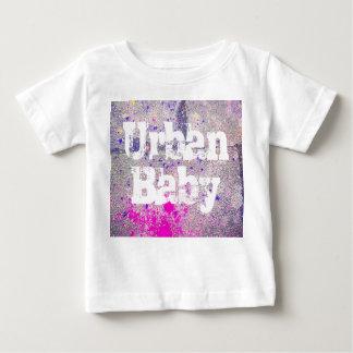 Camiseta Para Bebê Rosa quente do bebê urbano