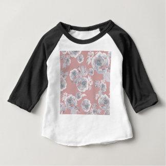 Camiseta Para Bebê Rosas do açúcar