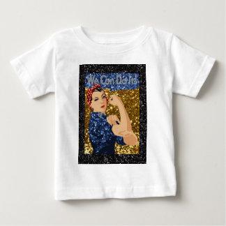 Camiseta Para Bebê rosie do brilho o rebitador
