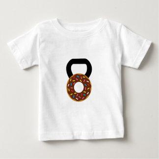 Camiseta Para Bebê Rosquinha Kettlebell