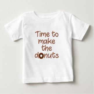 Camiseta Para Bebê rosquinhas