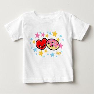 Camiseta Para Bebê rosquinhas do amor