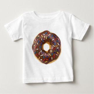 Camiseta Para Bebê Rosquinhas do fosco do chocolate