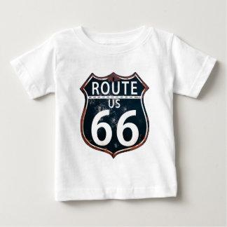 Camiseta Para Bebê Rota 66 - A estrada da mãe