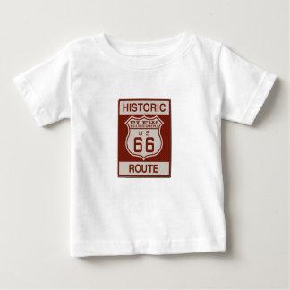 Camiseta Para Bebê Rota 66 de Plew