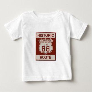Camiseta Para Bebê Rota sessenta e seis do albatroz