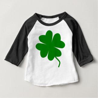 Camiseta Para Bebê Roupa afortunada do bebê do encanto