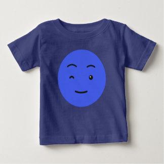 Camiseta Para Bebê Roupa bonito do smiley