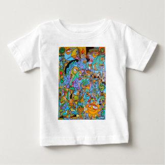Camiseta Para Bebê Roupa com passeio de The Sun por Lorenzo Traverso