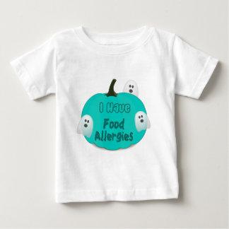 Camiseta Para Bebê Roupa do Dia das Bruxas da abóbora da cerceta das