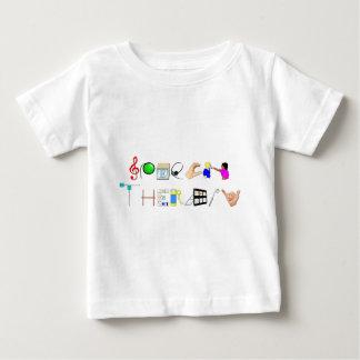Camiseta Para Bebê RUA no trabalho
