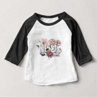 Camiseta Para Bebê Rude floral