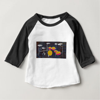Camiseta Para Bebê Rufando o divertimento!