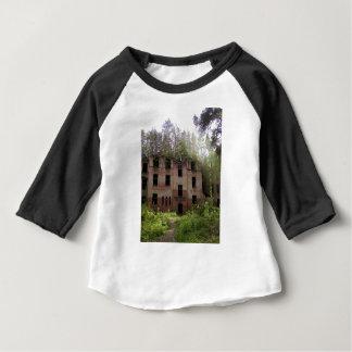 Camiseta Para Bebê Ruína do hospital de Beelitz, Alpenhaus