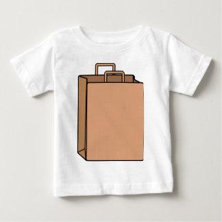 Camiseta Para Bebê Saco de papel