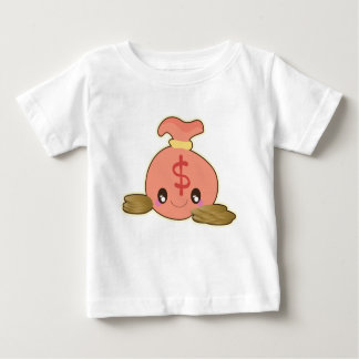 Camiseta Para Bebê Saco do ouro