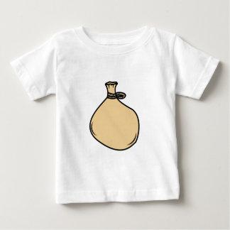 Camiseta Para Bebê Saco medieval do saco de Brown