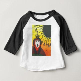 Camiseta Para Bebê Sacrifício ao deus de cobra solar