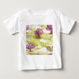 Camiseta Para Bebê sakura
