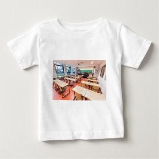 Camiseta Para Bebê Sala de aula da teoria no segundo grau