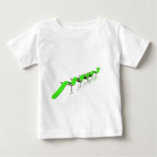 Camiseta Para Bebê Salto sobre alguns obstáculos