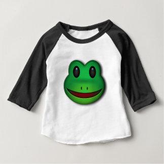 Camiseta Para Bebê Salto sobre sobre para verificar para fora este
