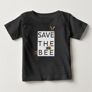 Camiseta Para Bebê Salvar a abelha! Salvar o mundo! Abelha