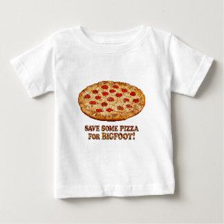 Camiseta Para Bebê Salvar a pizza para BIGFOOT - multi roupa