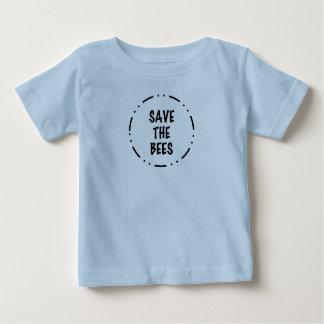 Camiseta Para Bebê Salvar as abelhas
