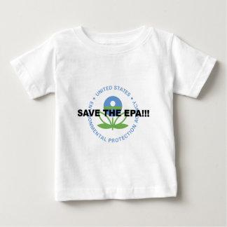 Camiseta Para Bebê Salvar o EPA