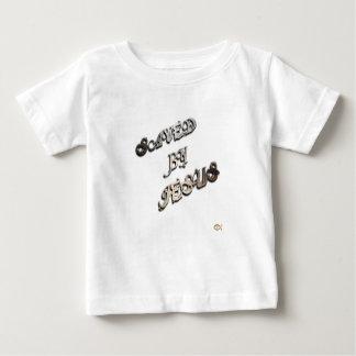 Camiseta Para Bebê Salvar por Jesus 1