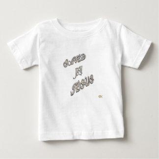 Camiseta Para Bebê Salvar por Jesus 3