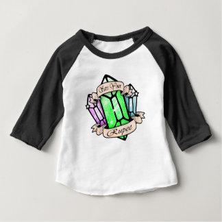 Camiseta Para Bebê Salvar sua rupia