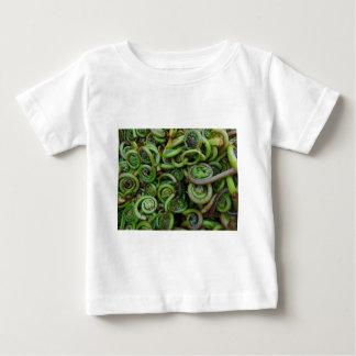 Camiseta Para Bebê Samambaias de Fiddlehead