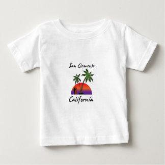 Camiseta Para Bebê San Clemente Califórnia