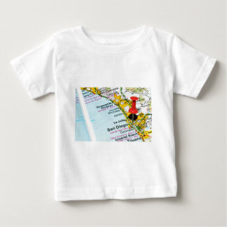 Camiseta Para Bebê San Diego, Califórnia