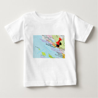 Camiseta Para Bebê Santa Barbara, Califórnia