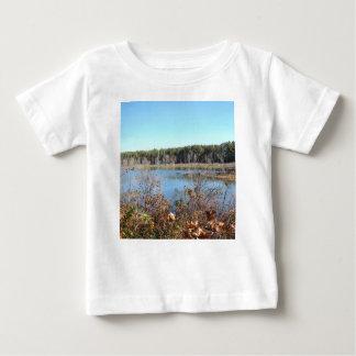 Camiseta Para Bebê Santuário de pássaro do lago sams