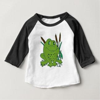 Camiseta Para Bebê Sapo 3