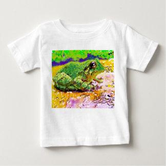 Camiseta Para Bebê Sapo ambos os lados, Bugly a borboleta,
