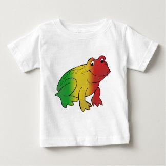Camiseta Para Bebê Sapo de Rasta