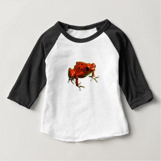 Camiseta Para Bebê Sapo do dardo do veneno
